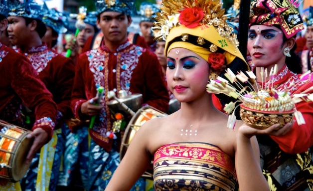 Balinese Dancer at Sanur Village Festival