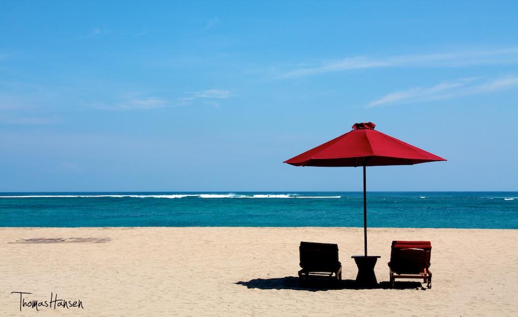Tuban Beach in July