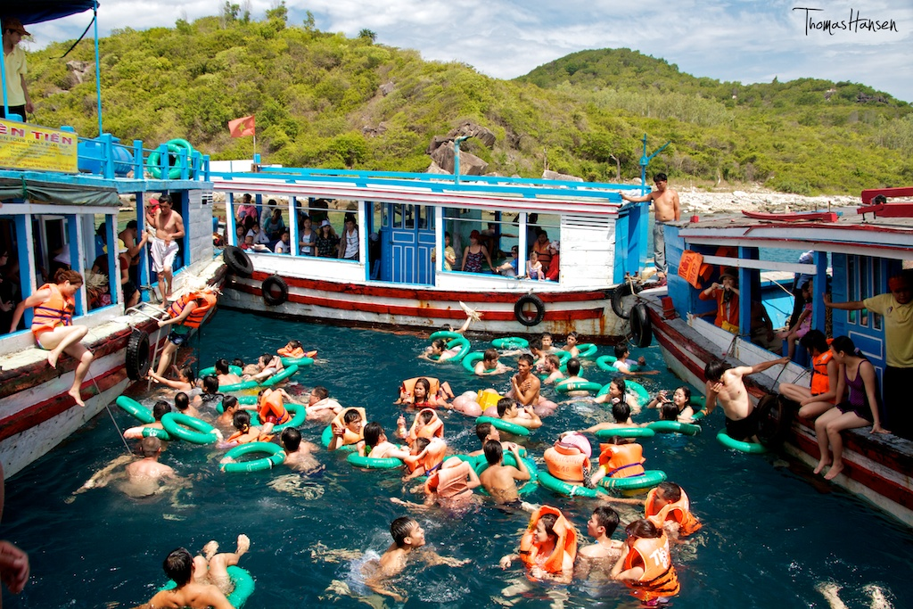 Nha Trang S 4 Island Boat Tour The Best 6 We Spent In