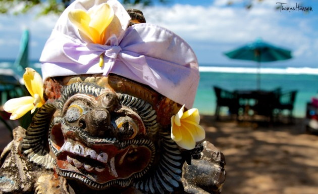 Ready for Another Balinese Ceremony - Sanur Bali