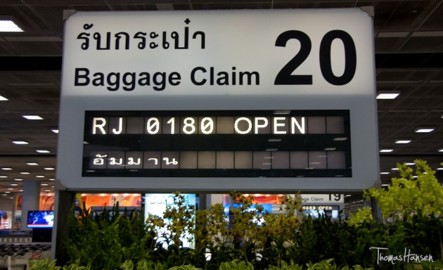 Baggage Claim in Thailand