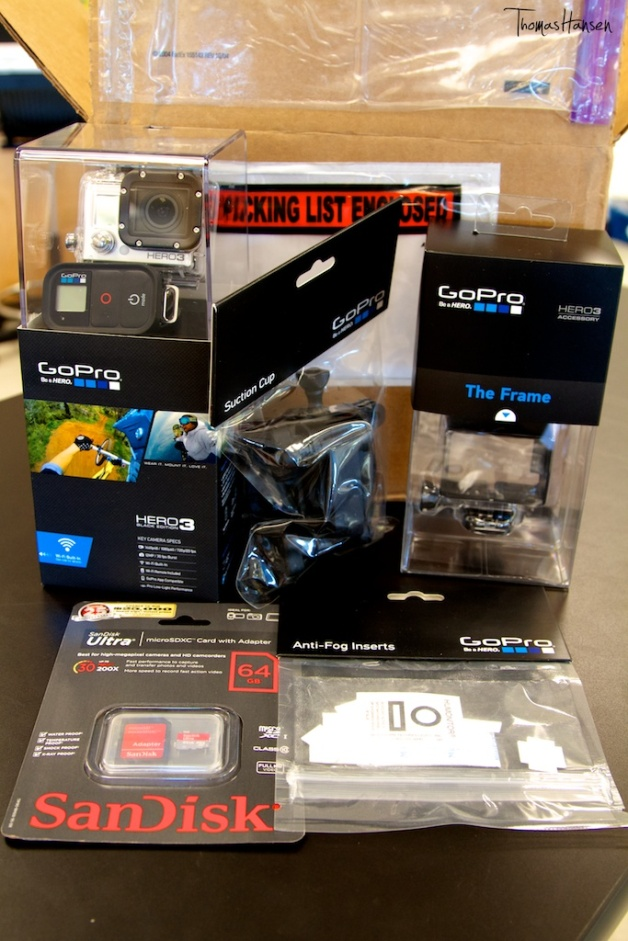 GoPro Hero 3 Fresh Out Of The Box