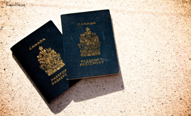 Our Canadian Passports