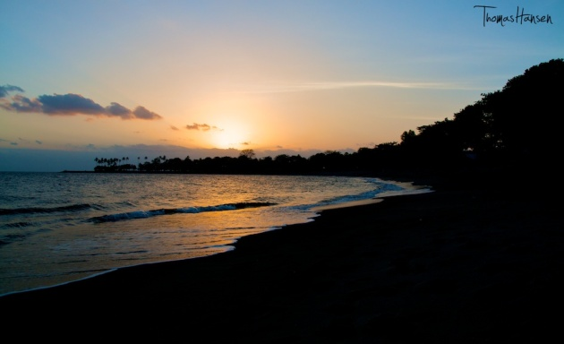 Sunset at Sengiggi Beach - Lombok