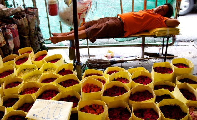 Bangkok Flower Market 8- Thailand