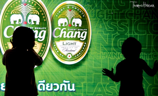 Chang Ad at Suan Lum Night Bazaar - Bangkok