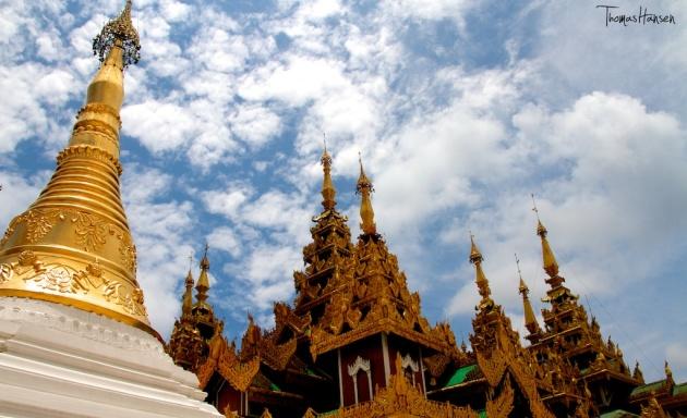 Shwedagon Pagoda - Yangon - Myanmar 1