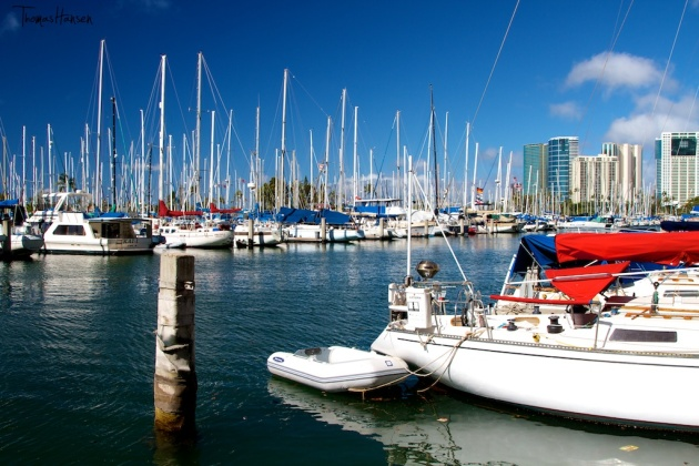 Honolulu Marina - Hawaii