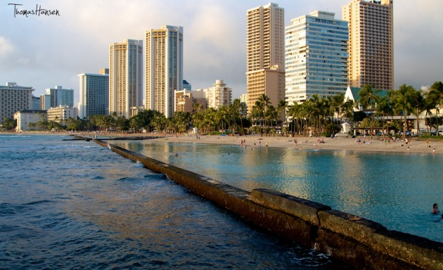 The Lagoon at Waikiki Beach