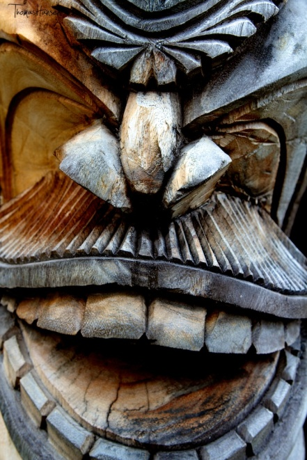 Tiki Wood Carving - Hawaii