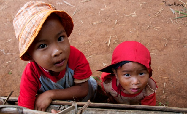 Kids in Myanmar