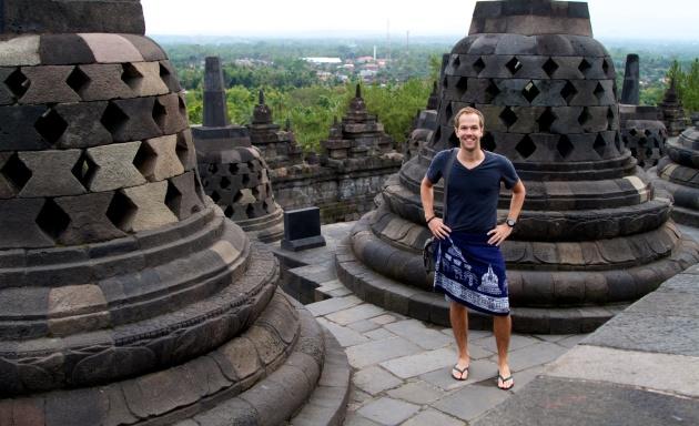 A Cloudy Sunrise at Borobudur - Java - Indonesia