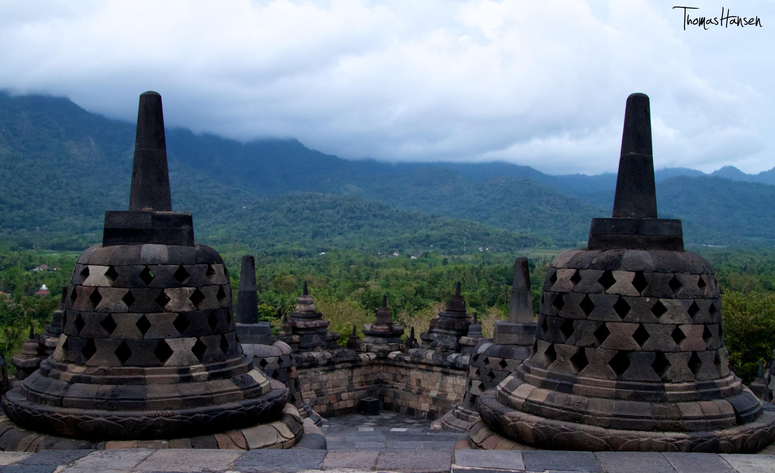 Borobudur at Sunrise Java Indonesia