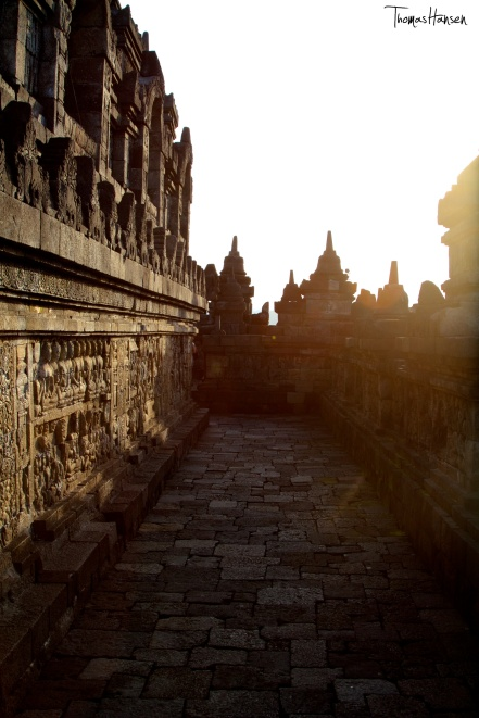 Borobudur at Sunset - Java - Indonesia 01