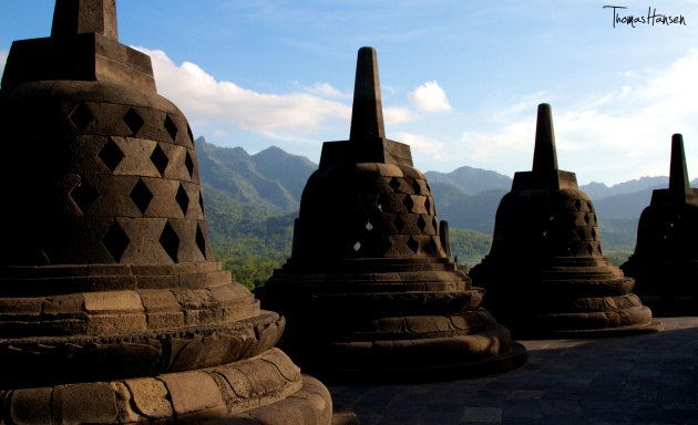 Borobudur at Sunset - Java - Indonesia 02