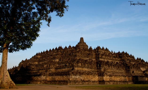 Borobudur Temple at Sunset - Java - Indonesia