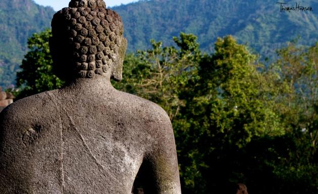 Buddha at Borobudur - Java - Indonesia 01