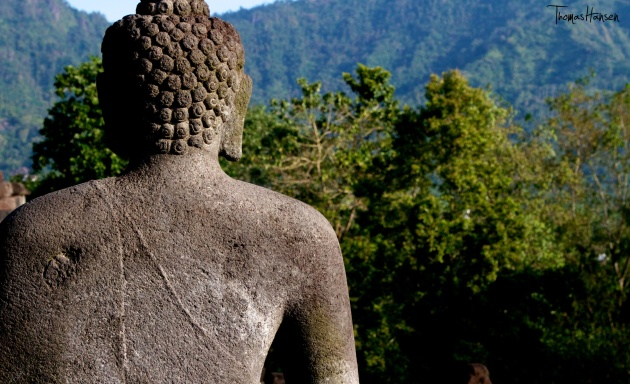 Buddha at Borobudur - Java - Indonesia 01