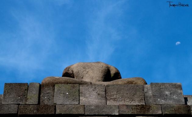 Headless Buddha at Borobudur - Java - Indonesia