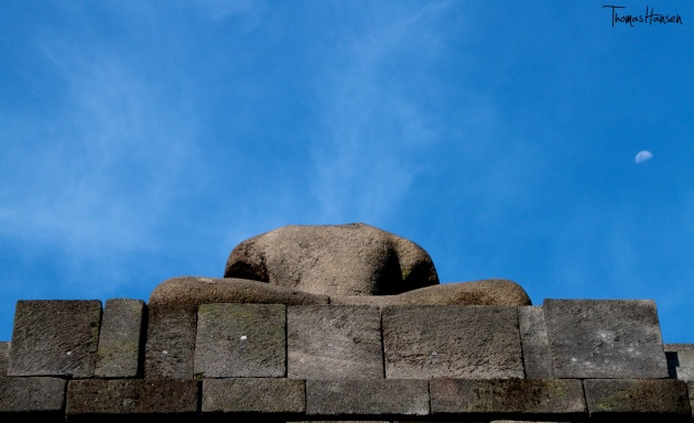 Headless Buddha at Borobudur - Java - Indonesia
