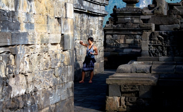 iPhone Photography at Borobudur - Indonesia