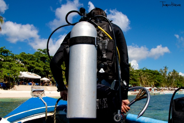 Scuba Diver - Alona Beach Panglao - Philippines