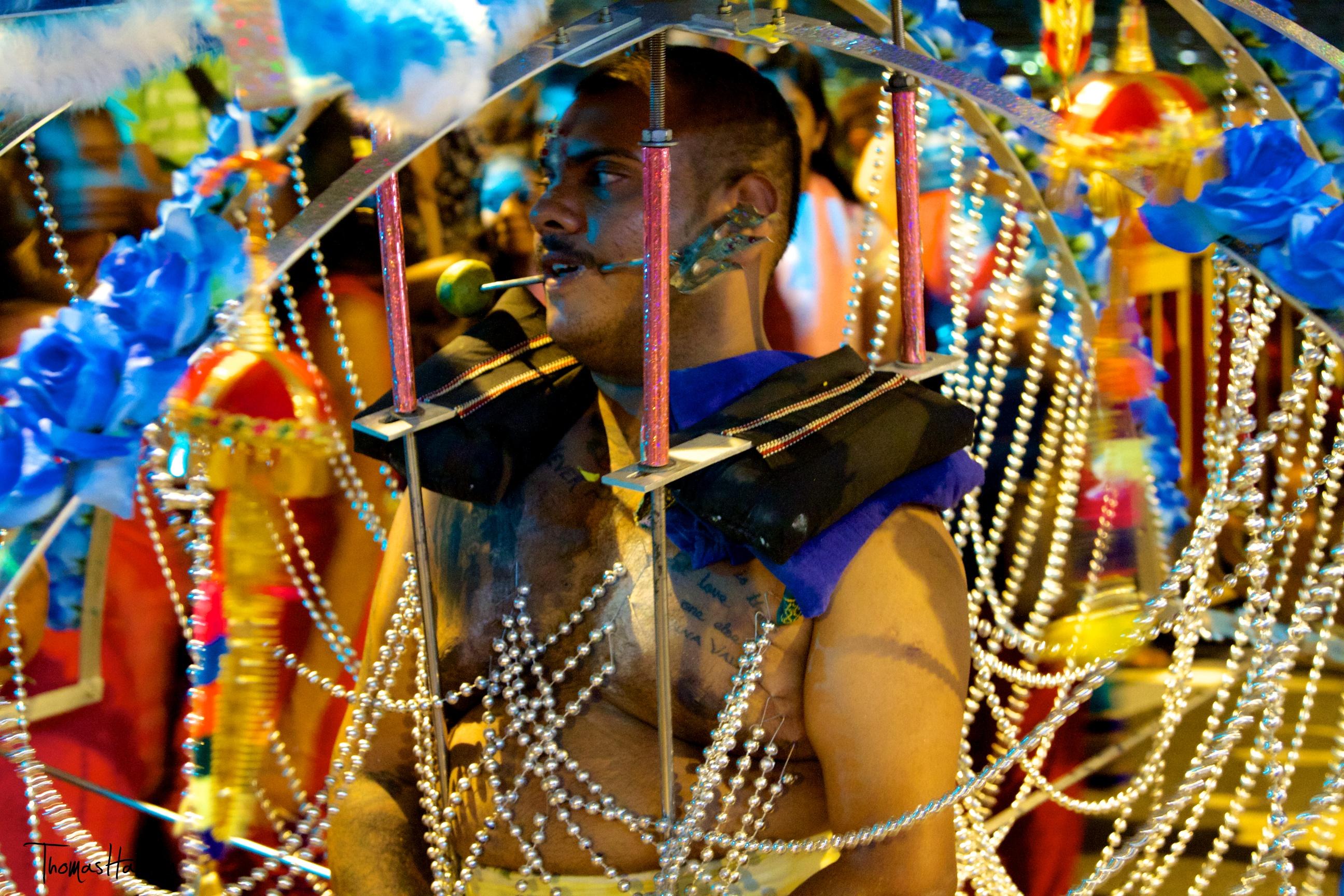 Hasil gambar untuk Thaipusam, The Hindu Piercing Festival