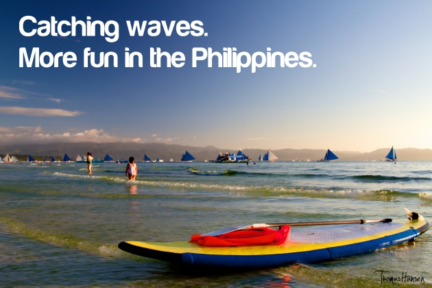 Catching Waves - More Fun In The Philippines