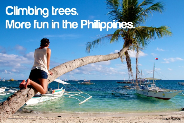 Climbing Trees - More Fun In The Philippines