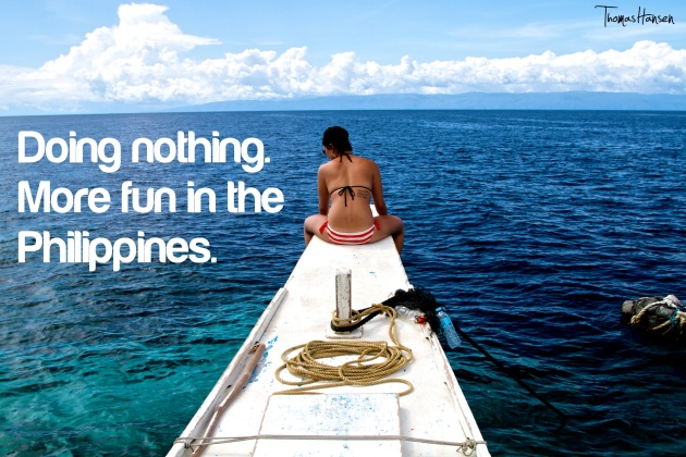 Doing Nothing - More Fun In The Philippines