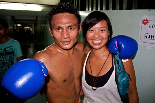 Fight Night at Lumpinee Boxing Stadium - Bangkok Thailand 05