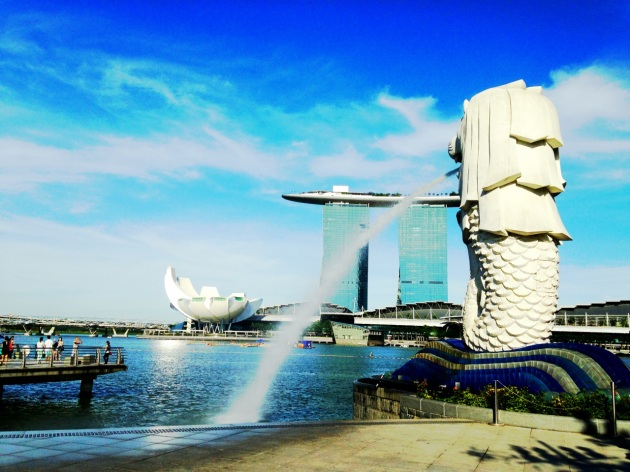 Merlion at Marina Bay - Singapore