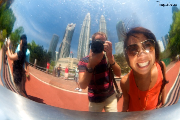 Selfie in Kuala Lumpur Malaysia