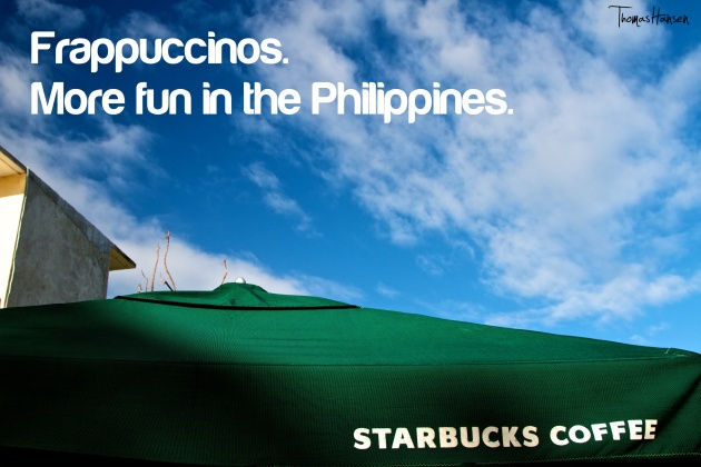 Starbucks Frappuccinos - More Fun In The Philippines