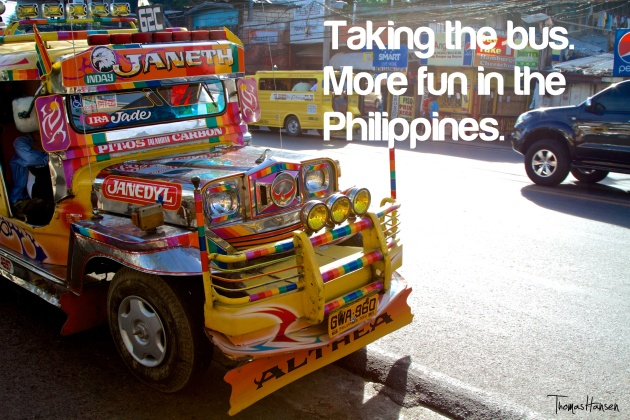 Taking The Bus - More Fun In The Philippines