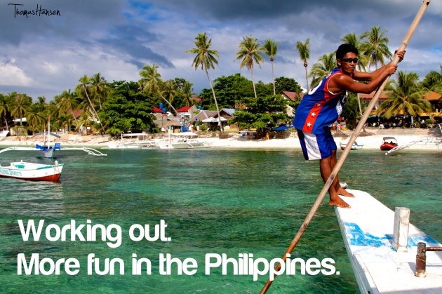 Working Out - More Fun In The Philippines