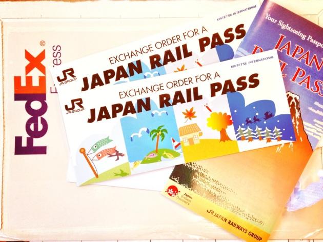 JR Pass Exchange Orders