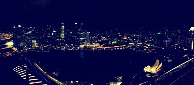 Singapore City View from Marina Bay Sands