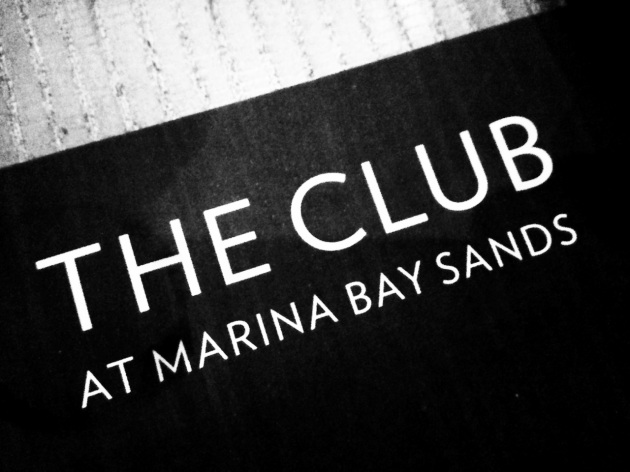 The Club at Marina Bay Sands - Singapore