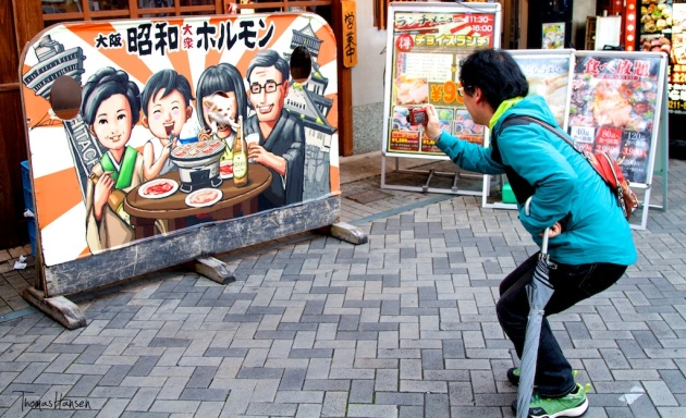 Osaka Photo Op - Japan