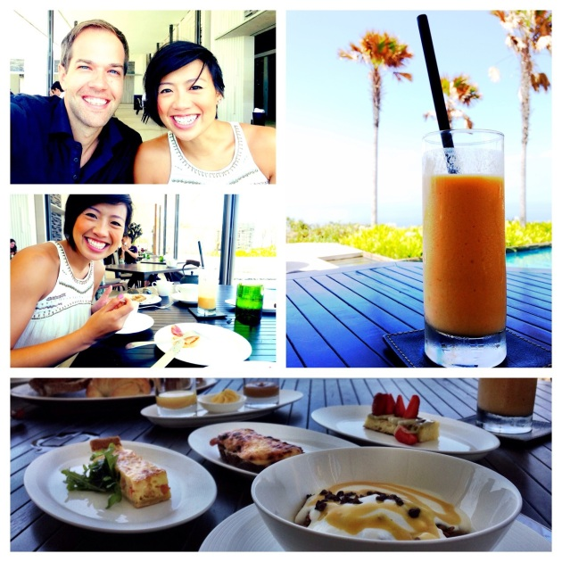 Breakfast at Alila Villas Uluwatu 2