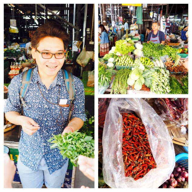 At the Market 2 - Basil Cookery - Chiang Mai - Thailand