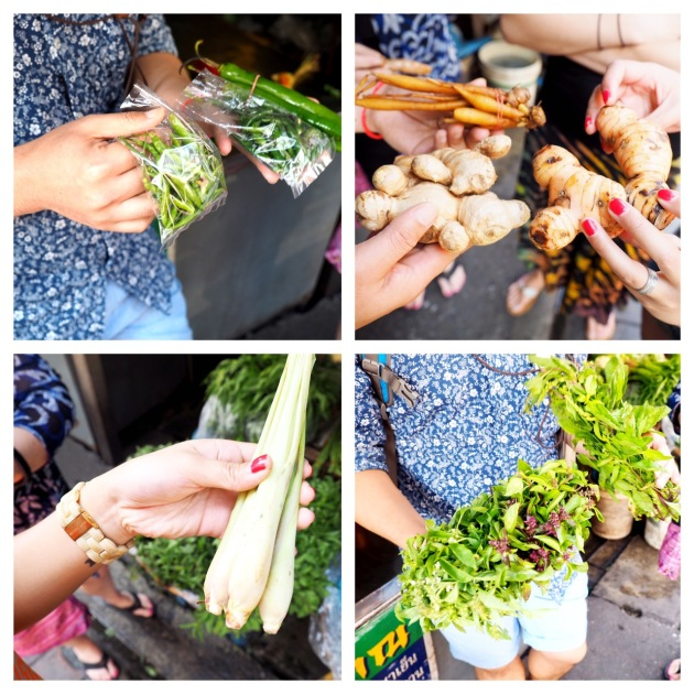 At the Market - Basil Cookery - Chiang Mai - Thailand