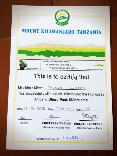 Climbing Kilimanjaro - Tanzania 12