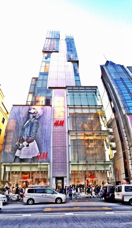 H&M - Harajuku - Tokyo - Japan