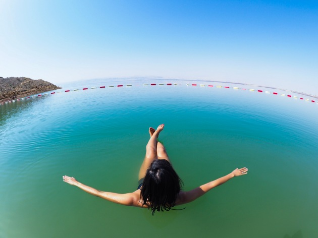 Floating The Dead Sea - Jordan - Hilton Hotel 01